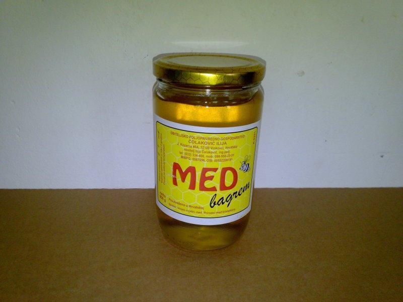 MED BAGREM 900g